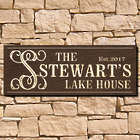Personalized Casanova Wooden Wall Decor Sign