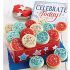 16 Piece Summer Cutout Cookies Gift Tin