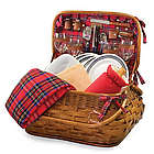 Indianapolis Colts Highlander Rattan Picnic Basket