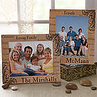 Family Pride Engraved Wood 8X10 Picture Frame