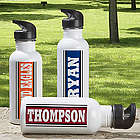 You Name It Personalized Aluminum Sports Water Bottle
