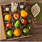 Organic Fruit and Snacks Gift Box