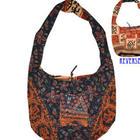 Blue Reversible Tapestry Block Print Bag