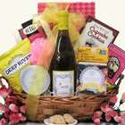 Scrumptious Wine and Spa Gift Basket