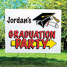 Graduation Party Yard Sign