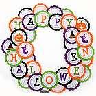 Happy Halloween Felt Wreath
