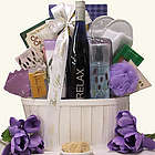 Riesling Thank You Themed Gift Basket
