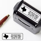 Personalized Home State Self-Inking Stamper