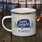 Happy Camper Personalized Camping Mug