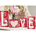Wooden Love Blocks