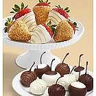 Chocolate Covered Cherries and Champagne Strawberries
