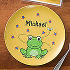 Frog Personalized Kid's Plate