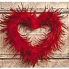 Feather Heart Wreath