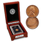 1909 Victor David Brenner Lincoln Penny Coin with Display Box