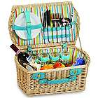 Brandyn Picnic Basket for Four