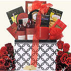 Candelight Romance and Spa Anniversary Gift Basket