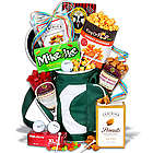 Men's Candy and Snacks Golf Gift Basket