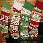 Traditional Knit Personalized Stocking
