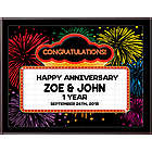 Anniversary Marquee Plaque