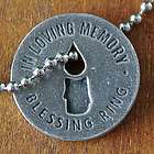Memorial Blessing Pewter Charm