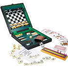 Personalized 6-in-1 Wood Box Travel Game Set