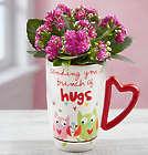 Sending Hugs Mug Kalanchoe Mug