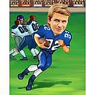 Your Photo in a Football Player Caricature