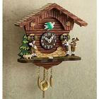 Polka Band Mini Cuckoo Clock