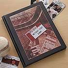 Personalized Sports Ticket Stub Scrapbook Album