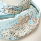 Around the World Geography Scarf