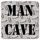 Diamond Plate Man Cave Coasters