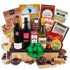 Celebration New Year Wine Gift Basket