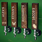 Sports Favorites Personalized Wood Tap Handle