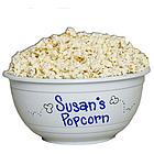 Personalized Popcorn Bowl