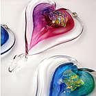 Hanging Glass Heart Suncatcher