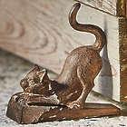 Cast Iron Cat Door Stop