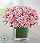 Large Fancy Pink Rose Bouquet in Vaes