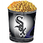Chicago White Sox 3 Way Popcorn Gift Tin