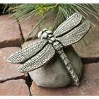 Handcrafted Cast Stone Dragonfly