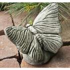 Handcrafted Cast Stone Butterfly