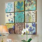 Botanical 9 Piece Wall Decor