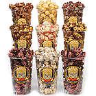 Chocolate Popcorn Sampler