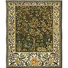 Tree of Life Tapestry in Umber