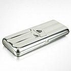 Silver Collection Logo Triple Cigar Holder