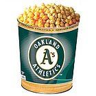 Oakland A's 3-Way Popcorn