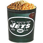 New York Jets 3 Way Popcorn Tin