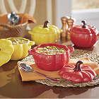 4 Pumpkin Soup Bowls with Lids