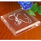 Personalized Flower Initial Keepsake & Paperweight