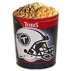 Tennesse Titans 3 Way Popcorn Tin