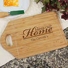 Personalized Bless Our Home Cheese Carving Board